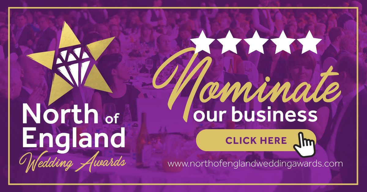 Nominate our business for the North of England Wedding Awards